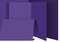 Purple Flannel Board Large / Mounted Solid Felt Boards