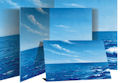 Water & Sky Flannel Board Small / Mounted Printed Scene Felt Boards