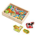 Wooden Animal Magnets (15)