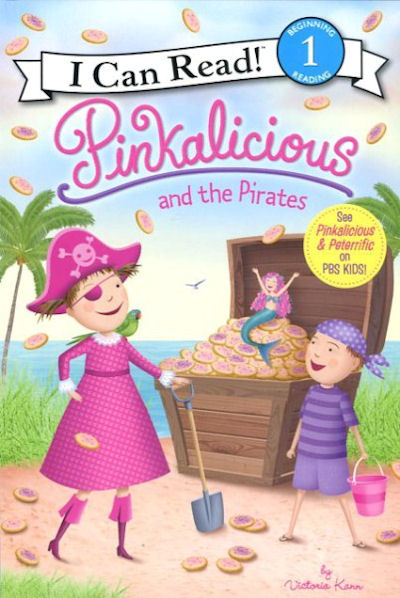 Pinkalicious and the Pirates (18) Level 1