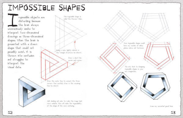 Nonfiction Books Draw Optical Illusions 18