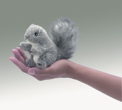 Mini Squirrel Gray (09)
