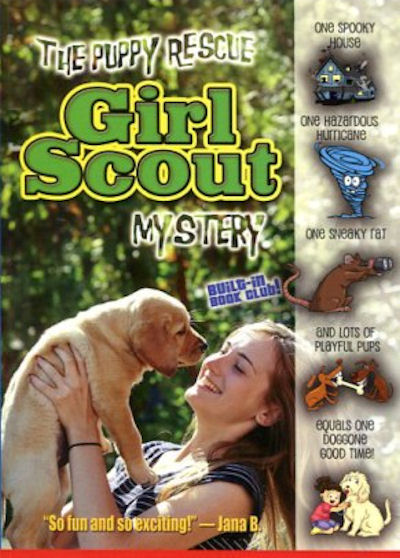 Puppy Rescue Girl Scout Mystery, The (18)