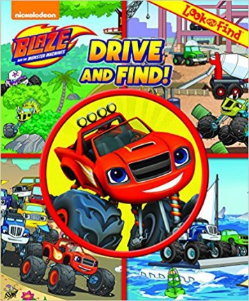 Look And Find Blaze The Monster Machines Drive 17