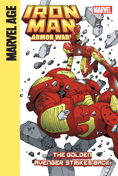 Iron Man and the Armor Wars Part 4: The Golden Avenger Strikes Back (14) / Iron Man and the Armor Wars