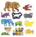 Brown Bear, Brown Bear, what do you see? (14) / Eric Carle Precut Flannel Clings
