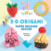 3-D Origami: Paper Building Blocks (20)